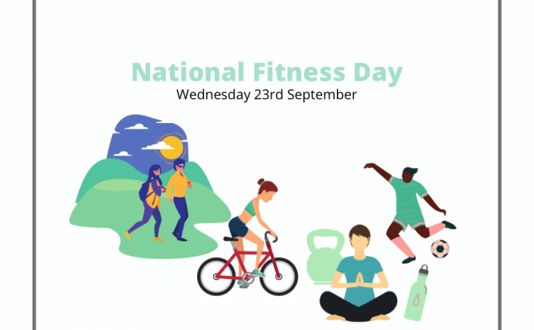 National Fitness Day: Wednesday 23rd September