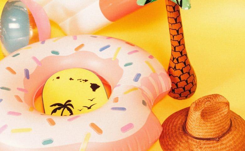 Inflatable beach toys